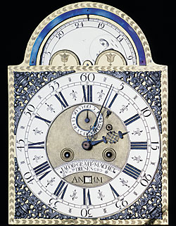 AntiquesAndFineArt Clock face and works, Jacob Graff