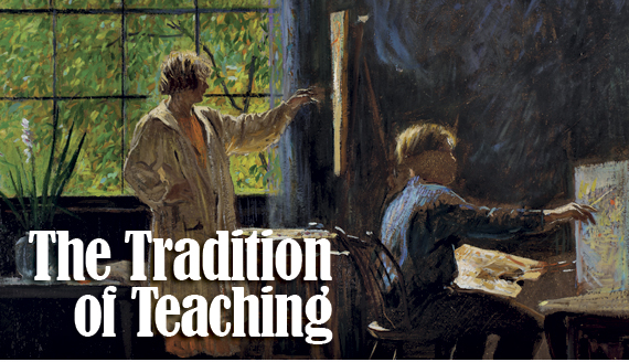 The Tradition of Teaching by Monica Zimmerman