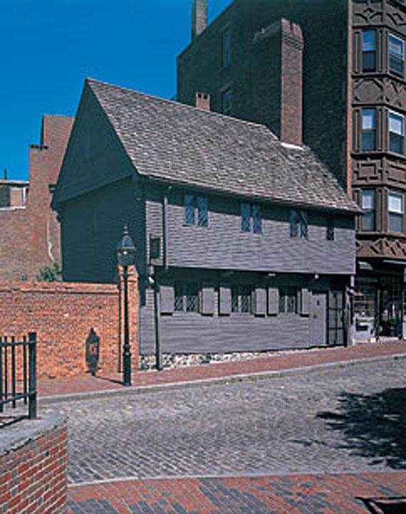Attractive Paul Revere House ...