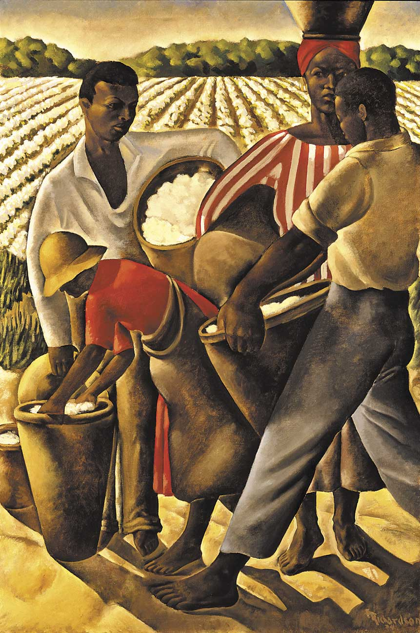 Art history news 1934 a new deal for artists for African mural painting