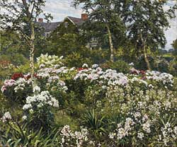 Fig. 9: Gaines Ruger Donoho (1857–1916) A Garden, 1911. Oil on canvas, 30 x 36 inches. Courtesy, Art Gallery of Ontario, Toronto. Gift of the Canadian National Exhibition Association.