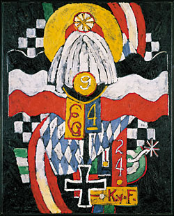 Marsden Hartley (1877–1943) Painting No. 47, Berlin, 1914–1915 Oil on canvas, 39-7?16 x 32 inches Hirshhorn Museum and Sculpture Garden, Smithsonian Institution, Washington, D.C.
