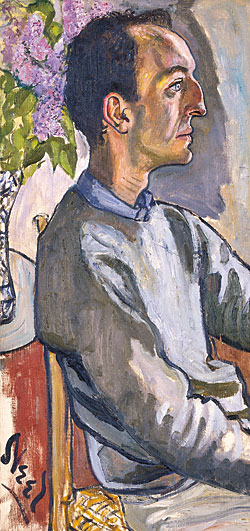 Alice Neel (1900–1984) Frank O'Hara (1926–1966), 1960 Oil on canvas, 33-3/4 x 16 inches National Portrait Gallery, Smithsonian Institution, Washington, D.C.; gift of Hartley S. Neel.