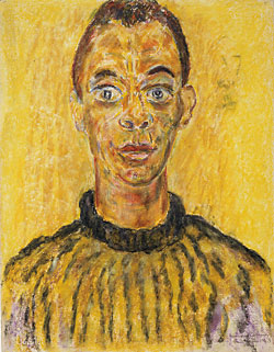 Beauford Delaney (1901–1979) James Baldwin (1924–1987), 1963. Pastel on paper, 25-1/2 x 19-5/8 inches National Portrait Gallery, Smithsonian Institution, Washington, D.C.