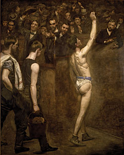 Thomas Cowperthwaite Eakins (1844–1916) Salutat, 1898 Oil on canvas, 50 x 40 inches Addison Gallery of American Art, Phillips Academy, Andover, Massachusetts Gift of an anonymous donor