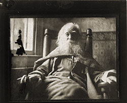 Thomas Cowperthwaite Eakins (1844–1916) Walt Whitman (1818–1892), 1891 (printed 1979) Platinum print, 4-1?16 x 4-13?16 inches National Portrait Gallery, Smithsonian Institution, Washington, D.C.