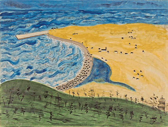 Fig. 6: Milton Avery (1893–1965) Little Fox River, 1942–43 Oil on canvas, 36 x 48 inches Permanent Collection of the Neuberger Museum of Art, Purchase College, State University of New York;  Gift of Roy R. Neuberger