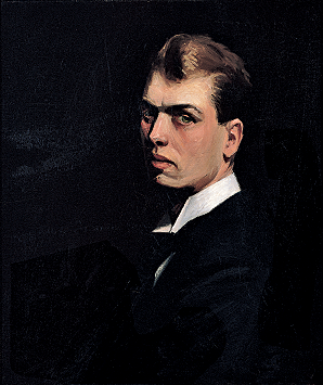 Fig. 7: Edward Hopper (1882–1967), Self-Portrait, 1903–1906. Oil on canvas, 25-15?16 x 22 inches. Whitney Museum of American Art, New York; Josephine N. Hopper Bequest (70.1253). ©Heirs of Josephine N. Hopper, licensed by the Whitney Museum of American Art. Photography by Sheldan C. Collins.