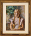 Frances in Braids (the artist's grandaughter)