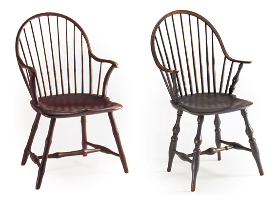 A Guide To Eighth Century Windsor Chairs By User From Antiques Fine Art Magazine